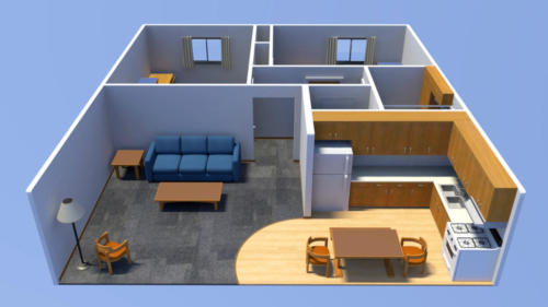 Floorplan From Front