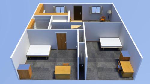 Floorplan From Back